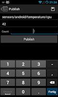 Screenshot of MyMQTT