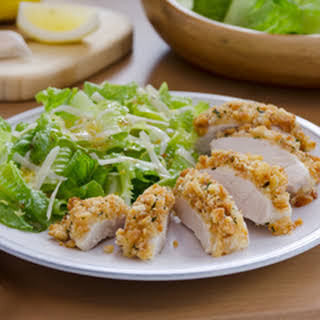 Caesar-crusted Chicken.