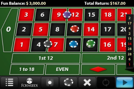 Foxwoods Roulette