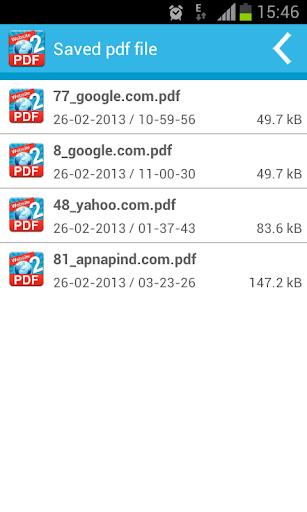 ANDROID PDF URL