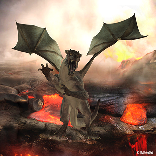 3D Dragon Go SMS Pro Theme 個人化 App LOGO-硬是要APP