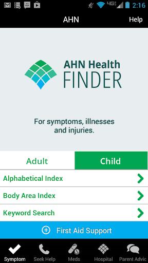AHN Health Finder