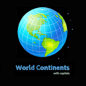 World Continents With Capitals