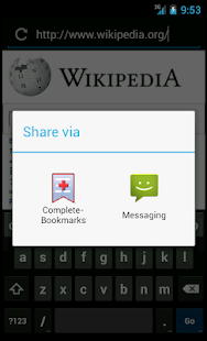 Complete Bookmarks- screenshot thumbnail