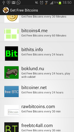 Get Free Bitcoins every day