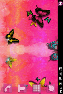 GOLauncher Theme Pink Cute Buy - screenshot thumbnail