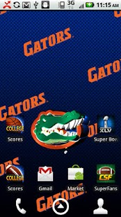Florida Gators Live Wallpaper - screenshot thumbnail