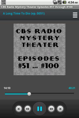 CBS Radio Mystery Theater V.02