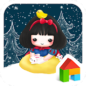 Darongi(snow white)Dodol Theme