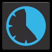 Cyan Stopwatch