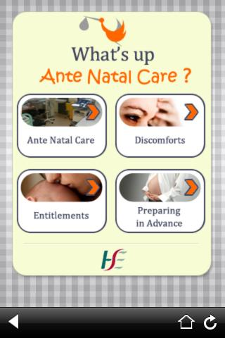 What's Up Ante Natal Care