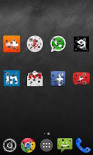 BULLET Icon Pack Apex Nova ADW