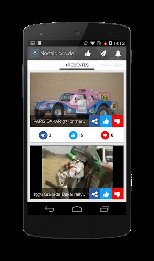 Nostálgicos del Rally Dakar