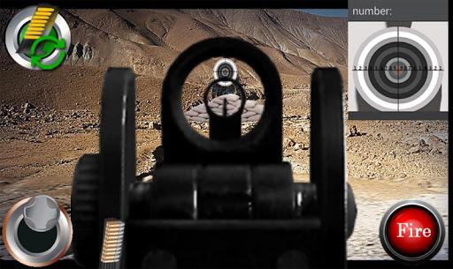 槍射擊狙擊手模擬