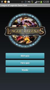 League of Legends Game Quiz