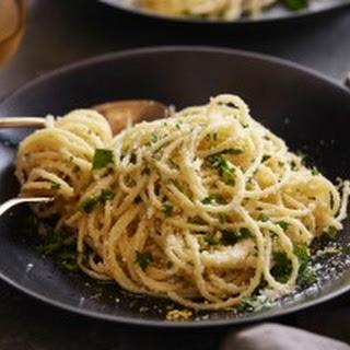 Spaghetti with Lemon Sauce Recipe