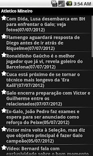 Noticias do Atletico Mineiro - screenshot thumbnail