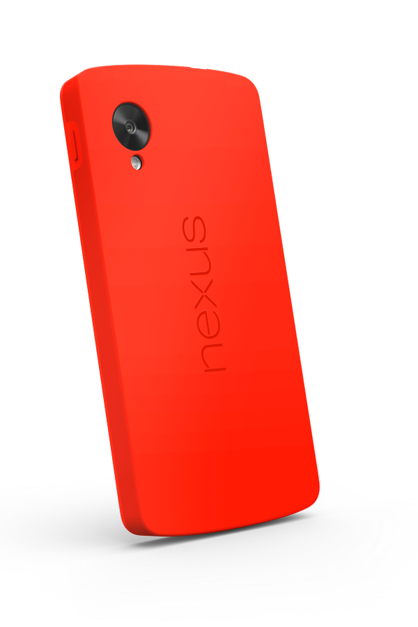 Nexus 5 Bumper Case (Bright Red) - screenshot
