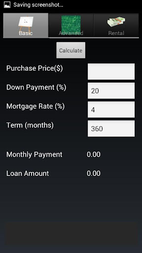 Loan and Rental Calculator