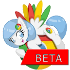 Chrome Beta Pony