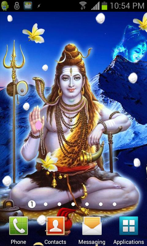 Lord SHIVA HQ Live Wallpaper- screenshot