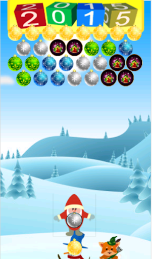 Christmas Bubble Shooter Game