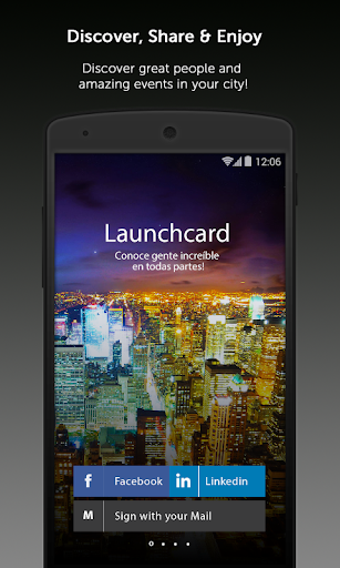 Launchcard