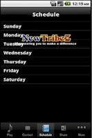 Screenshot of NewTribeZ Radio