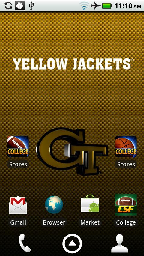 Georgia Tech Live Wallpaper HD (Android