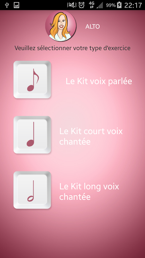 """Le kit"" female voices - Android Apps on Google Play"