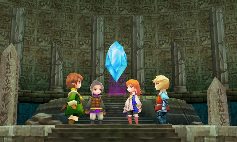 FINAL FANTASY III: captura de pantalla
