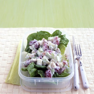 Waldorf Salad with Yogurt Dressing.