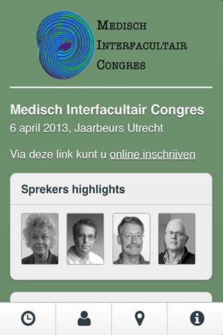 MIC Congres 2013 - screenshot