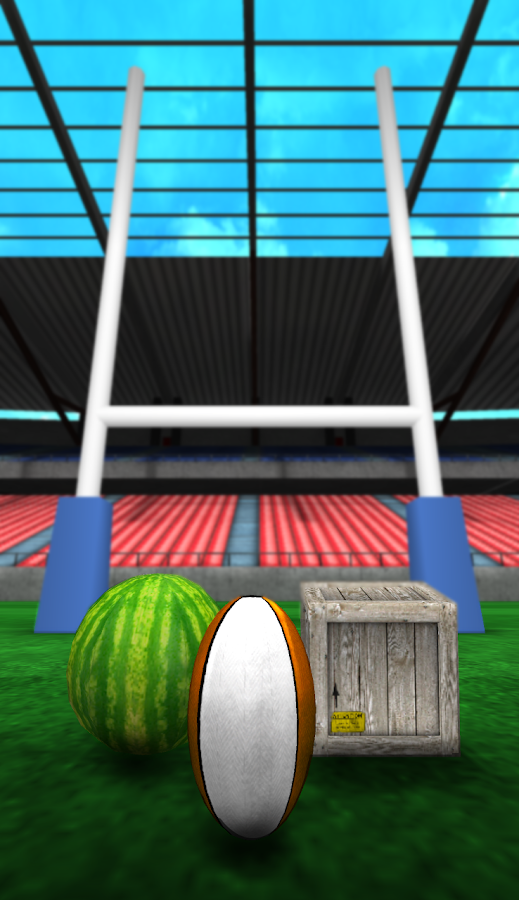 Finger Flick Rugby 3D - screenshot