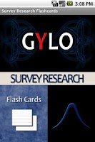 Screenshot of Survey Research Flashcards