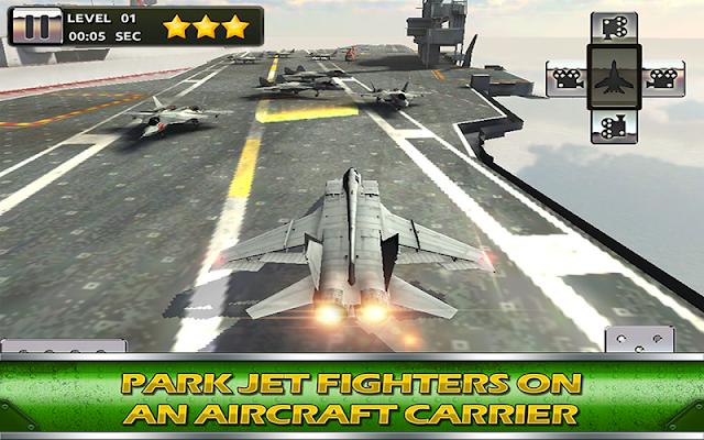 Aircraft Carrier Parking 3D - screenshot