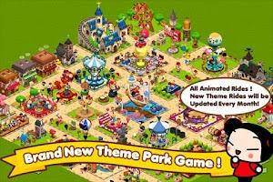 Screenshot of Pucca Theme Park