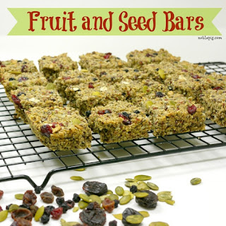 Fruit and Seed Bars.