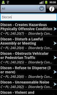 Common Summonsable Offenses- screenshot thumbnail