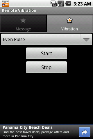 Remote Vibration- screenshot