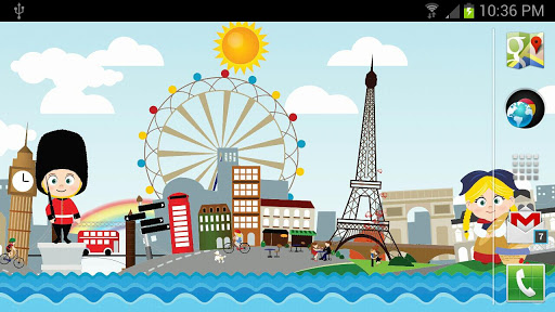 Cute Little World LWP Free