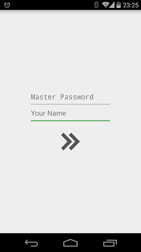 Master Password for Android