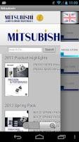 Screenshot of Mitsubishi Cutting Calculator