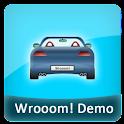 Wrooom! Demo logo