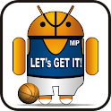 Droid Basketball doo-dad logo