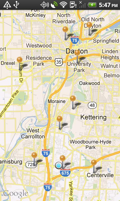 ER Locator- screenshot