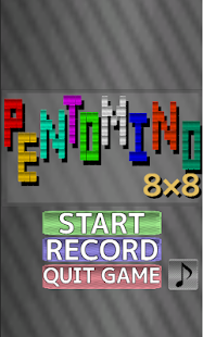 PENTOMINO8x8- screenshot thumbnail