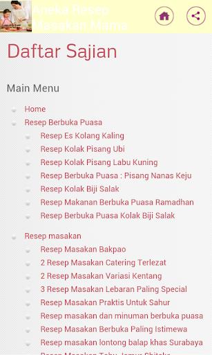 Kumpulan Resep Masakan Mama