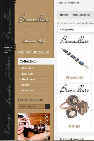 Bronzallure Jewellery Greece