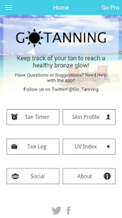 Go Tanning Tan Timer UV Index - screenshot thumbnail